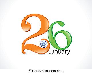 gennaio, astratto, 26