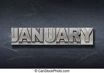 gennaio, parola, tana