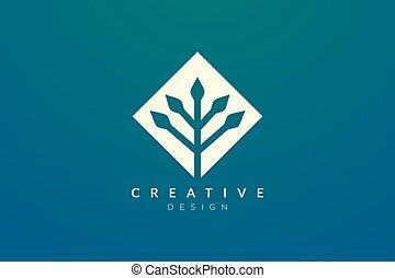 geometrico, concetto, disegno, fatto, forma, pianta