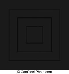 geometrico, sfondo nero, quadrato, moderno, astratto