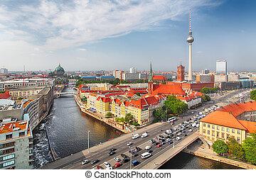 germania, berlino, cityscape