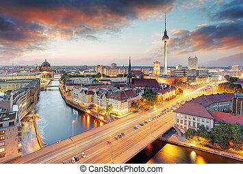 germania, cityscape, berlino