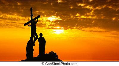 gesù, croce, cristo