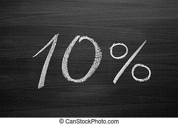 gesso, lavagna, scritto, 10-percent, testata