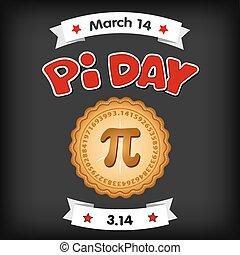 gesso, marzo, giorno, asse, pi, 14