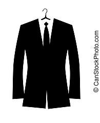 giacca, disegno, tuo, uomo