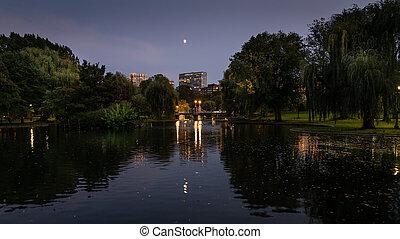giardino pubblico, boston