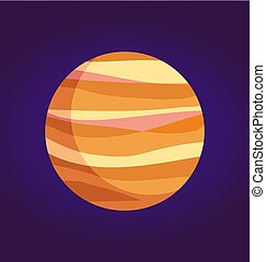 gigante, sistema, gas, pianeta, giove, solare