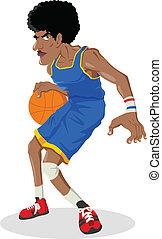 giocatore, pallacanestro