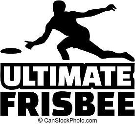 giocatore, ultimate, frisbee