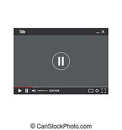 giocatore, video, web