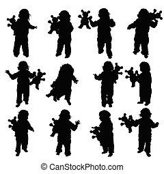 giocattolo, illustrazione, bambino