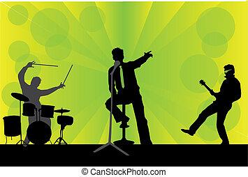 gioco, concerto