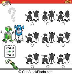 gioco, educativo, uggia, robot