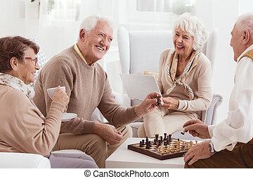 gioco scacchi esegue, insieme