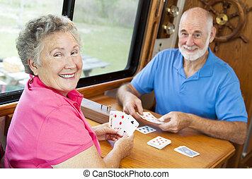 gioco, seniors, -, cartelle, rv