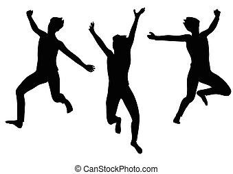 gioia, saltare