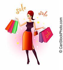 gioia, shopping