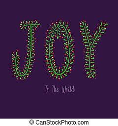 gioia, tipografia, mondo
