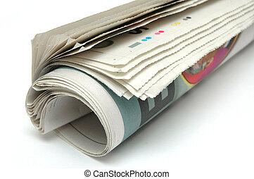 giornale, rotolo