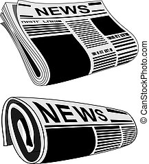 giornale, vettore
