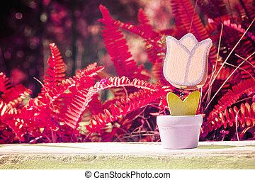 giorno, erba, giocattolo, valentina, fiore
