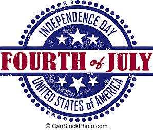 giorno indipendenza, quarto, luglio