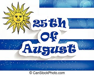 giorno indipendenza, uruguay