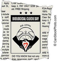 giorno, orologio, biologico, classificato