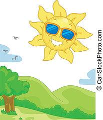 giorno pieno sole