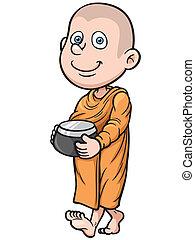 giovane, monaco
