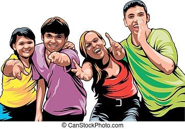 giovani persone