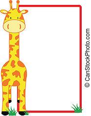 giraffa, copyspace