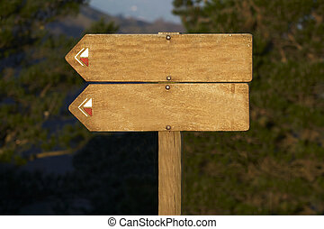 giusto, testo, aggiungere, legno, tabellone, vuoto, tuo
