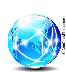 globale, porcellana, asia