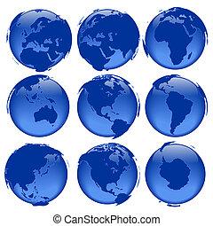 globo, #5, viste