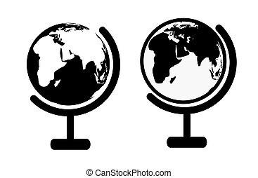 globo, icone