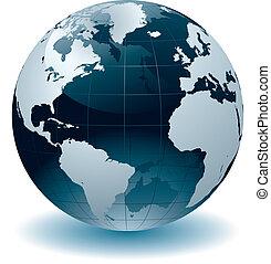 globo mondo, mappe