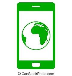 globo, smartphone