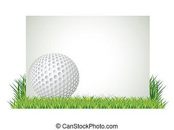 golf, bandiera
