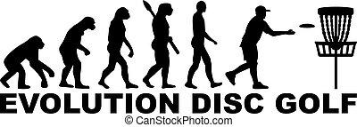 golf, disco, evoluzione