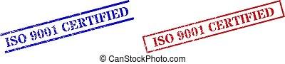 gomma, rettangolo, iso, textured, 9001, francobollo, cornice, certificato, sigilli
