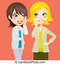 gossiping, donne
