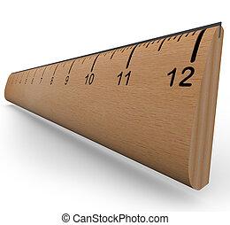 governatore legno, oggetto, ricerca, esperimento, misura, o