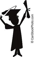 grad, silhouette