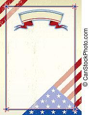 graffiato, americano, lettera