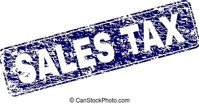 graffiato, arrotondato, francobollo, tassa, vendite, incorniciato, rettangolo