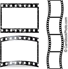 graffiato, vettore, film