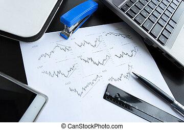 grafici, attributes, vendite, ufficio, tabelle