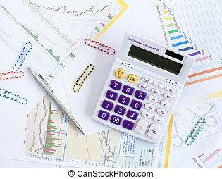 grafici, vendite, analisi, tabelle